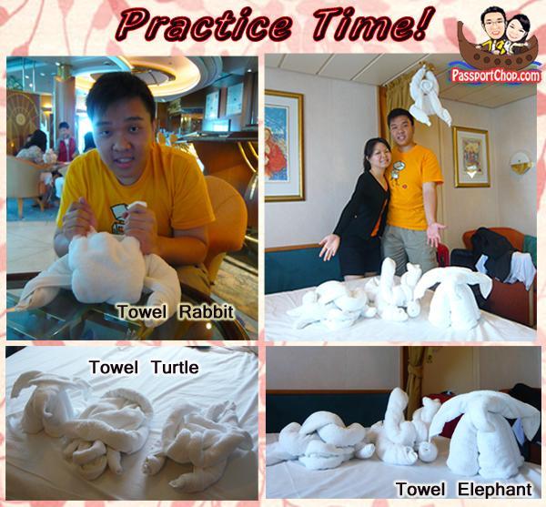 towel folding practice