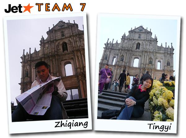 Jetstar Macau JetSaver Light Challenge Team 7