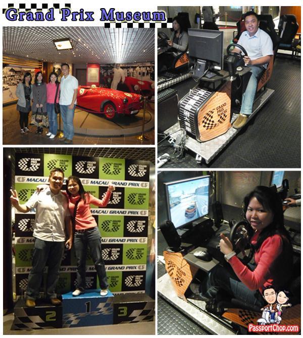 Macau Grand Prix Museum Simulator