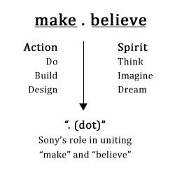 make-dot-believe-sony-philosophy
