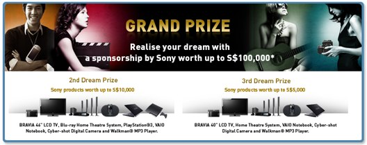 sony-dot-your-dream-prize