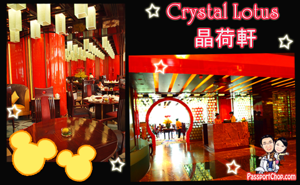Crystal Lotus Restaurant Dim Sum Lunch Hong Kong Disneyland Hotel
