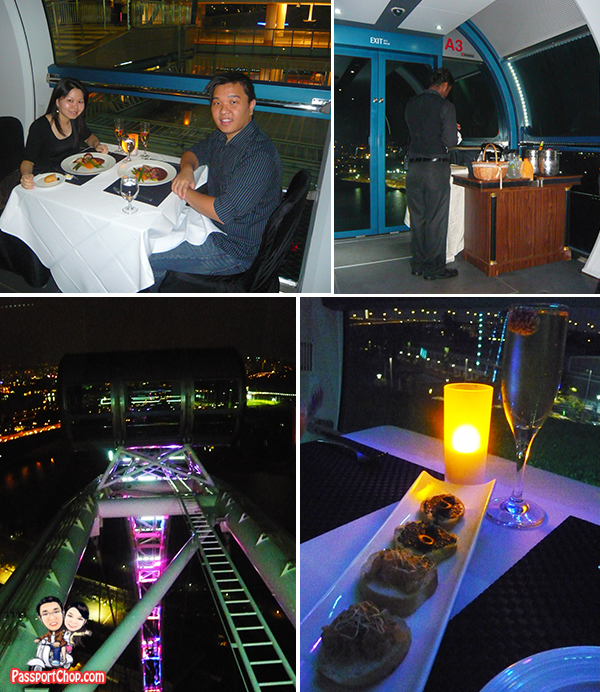 Singapore Flyer Sky Dining Food