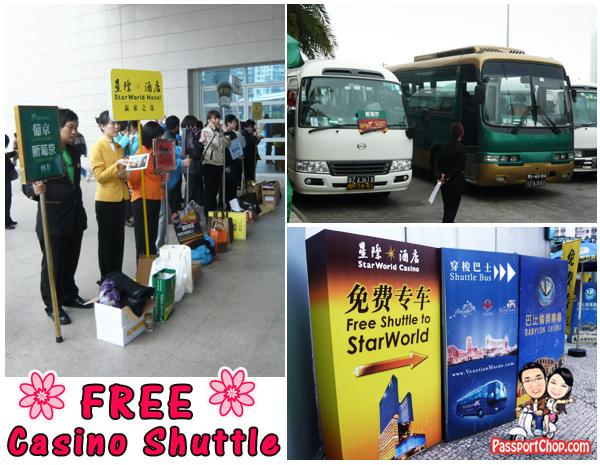Free Casino Shuttle Macau