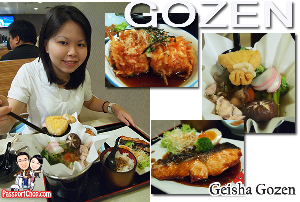 Geisha Gozen Sakae Sushi Chicken Kaminabe Salmon Teriyaki Sakura Ebi Tofu Chuka Kuraje Sakae Chawanmushi