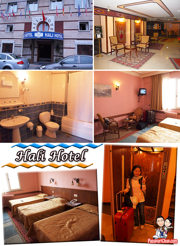 Hali Hotel Istanbul Turkey Sultanahmet district hotel