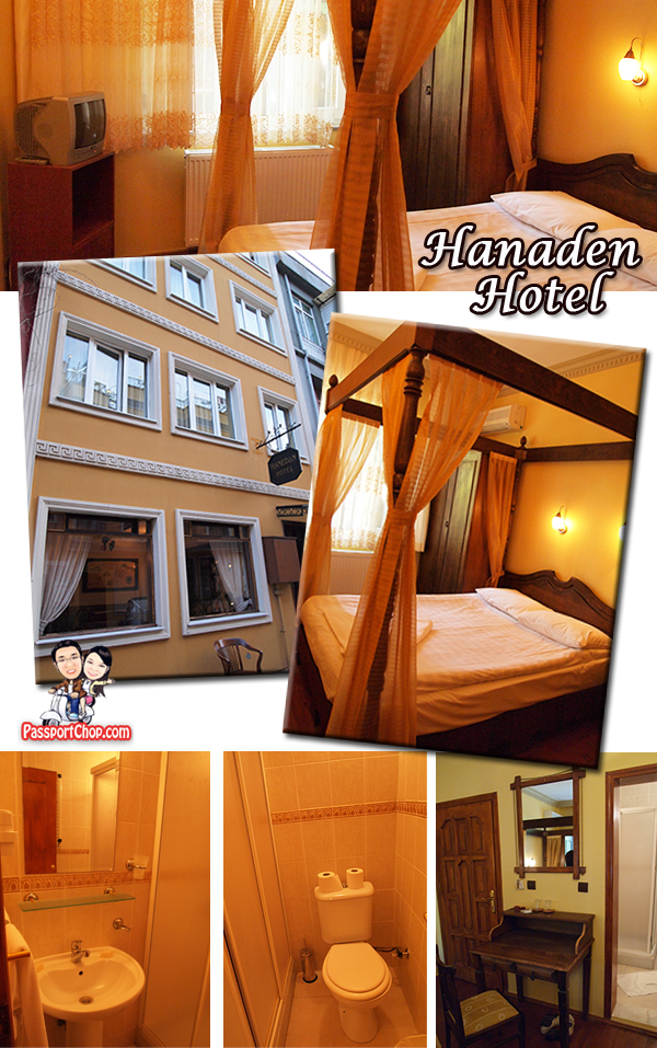 Hanedan Hotel Istanbul accommodation Sultanahmet