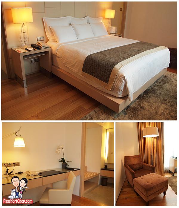 Marriott Singapore Tang Sok Kiar Suite bedroom