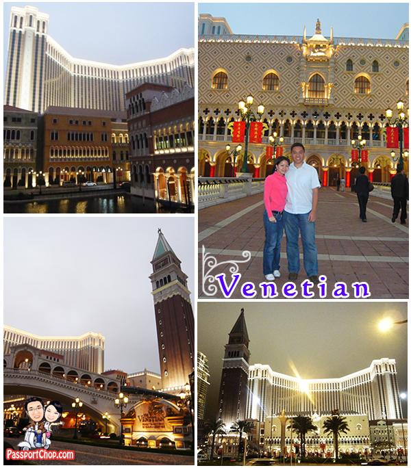 Venetian Macau Casino Exterior