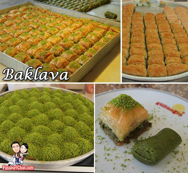 Istanbul Karakoy Gullugolu Baklava Borek