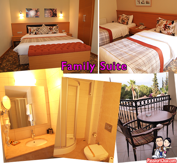 Turkey Fethiye Yacht Boutique Hotel Family Suite