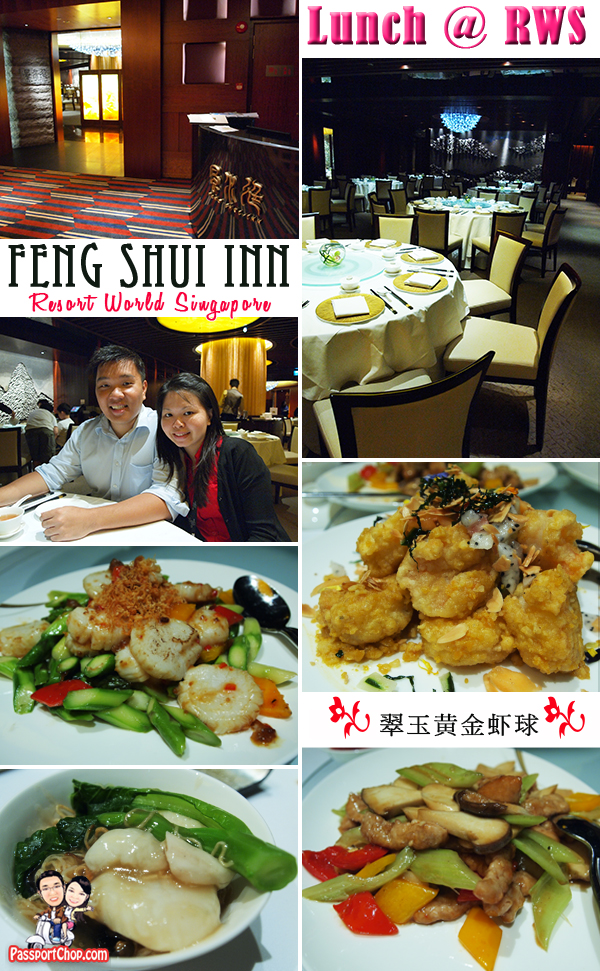 Resorts World Sentosa singapore Feng Shui Inn Menu