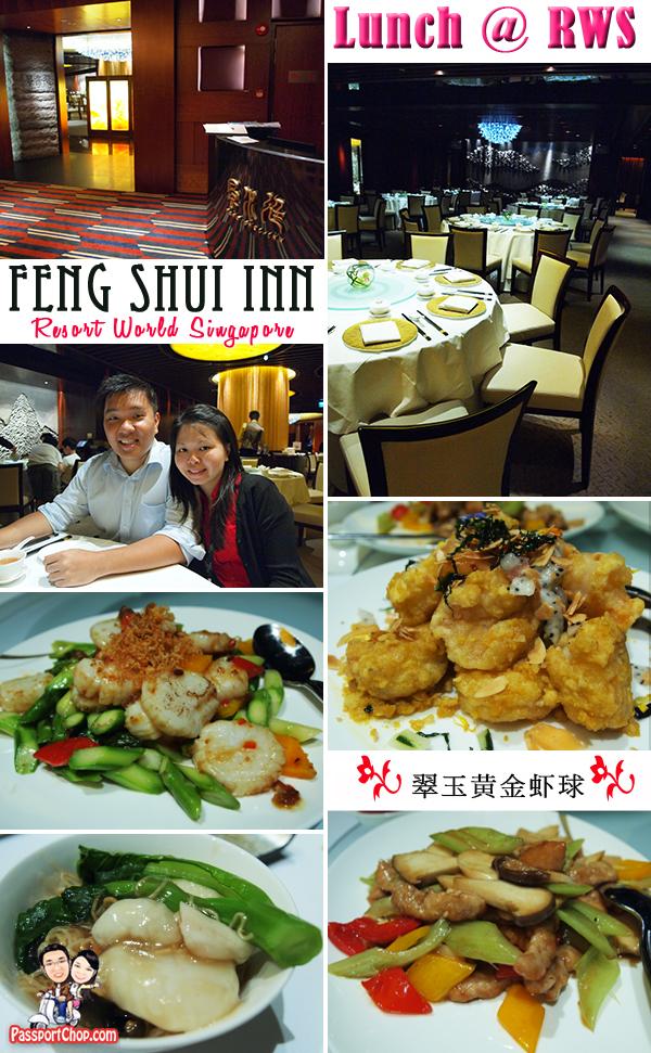 Resorts World Sentosa singapore Feng Shui Inn Menu