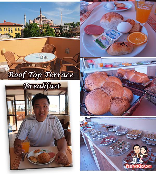 Hanedan Hotel Istanbul accommodation Sultanahmet breakfast