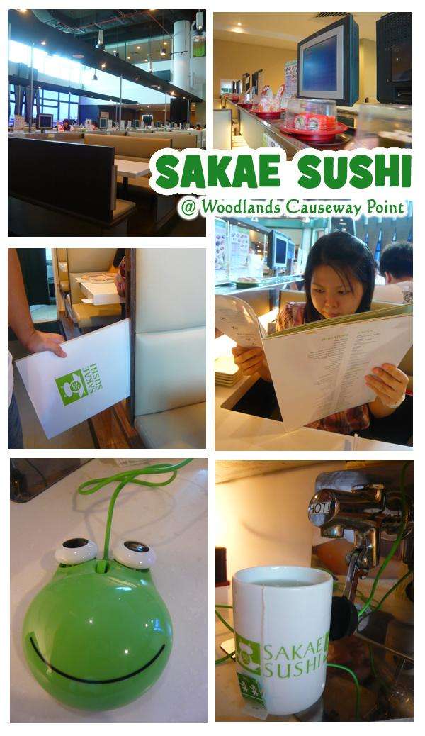 Sakae Sushi Causeway Point Woodlands