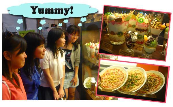 Yummy Benten Cafe Ice-Cream Anbiry Baburu