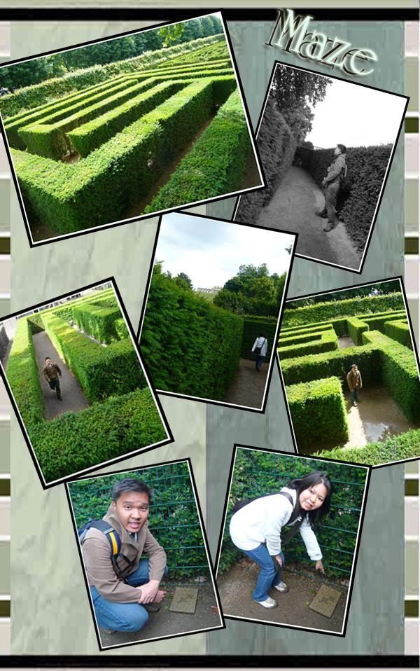 Schonbrunn Palace Maze and Labyrinth