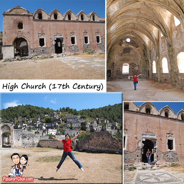 Kayakoy Map Village Ghost Town High Upper Church