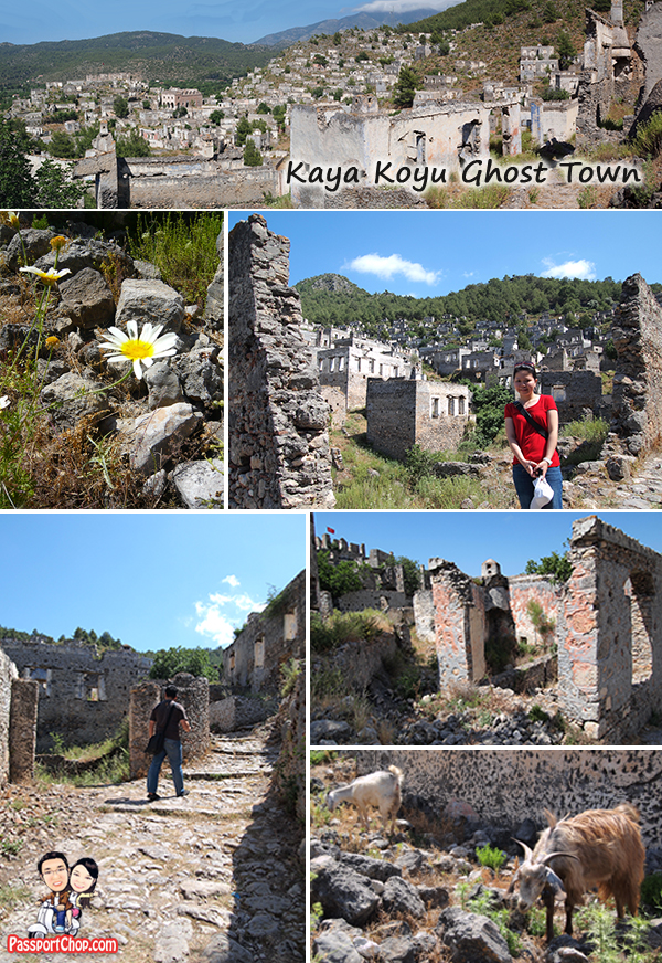 Kayakoy Map Village Ghost Town