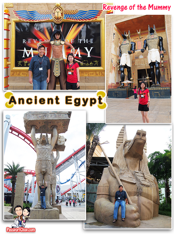 Ancient Egypt Revenge of the Mummy Universal Studios Singapore