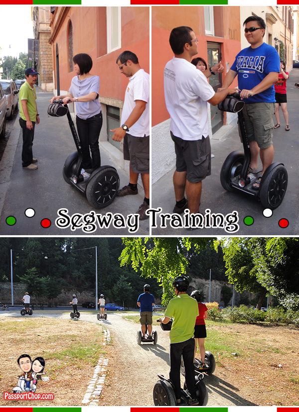 Rome By Segway Tour Italy Training Park