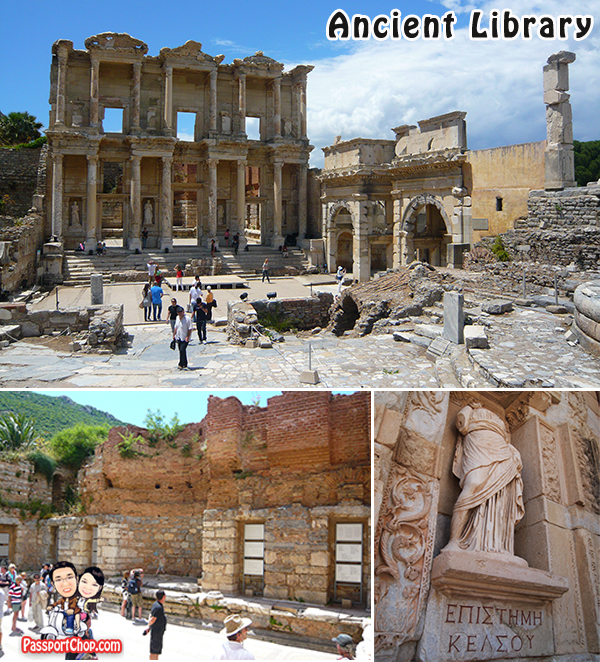 Ephesus Library of Celsus Ancient Library Architecture