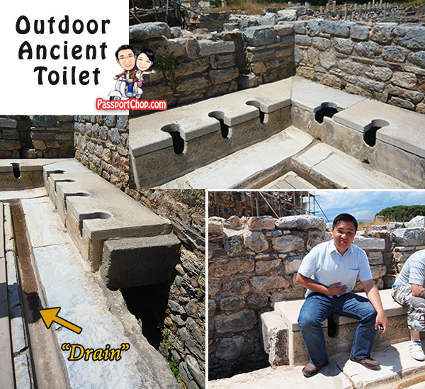 Ephesus Roman Greek Ancient Toilet