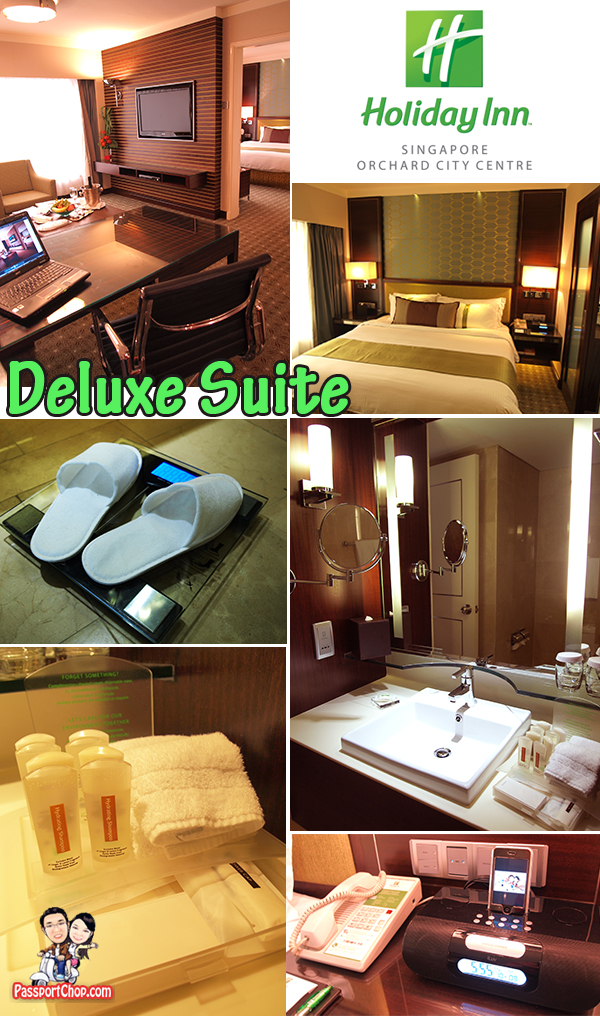 Holiday Inn City Centre Deluxe Suite Room Facilities