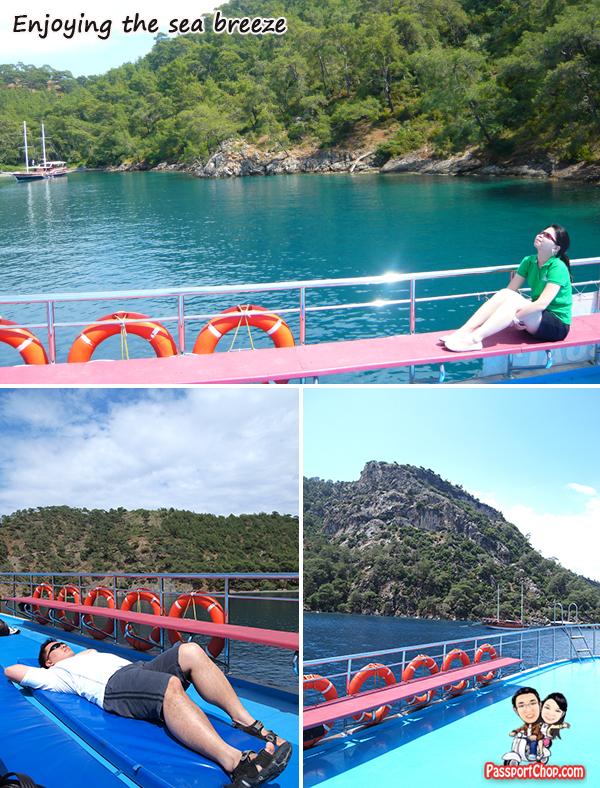 12 island tour Boat Fethiye Black Sea