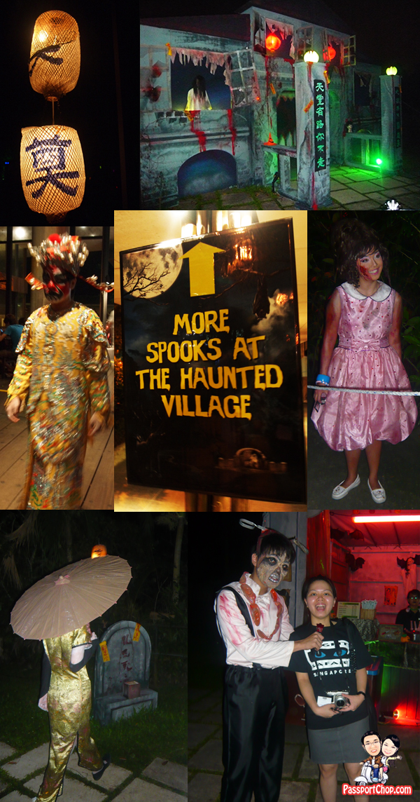 Night Safari Halloween Horrors Tour 2010 Review Haunted Village Gui Mansion