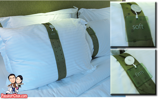 Holiday Inn City Centre Deluxe Suite Soft Hard Pillows Choice