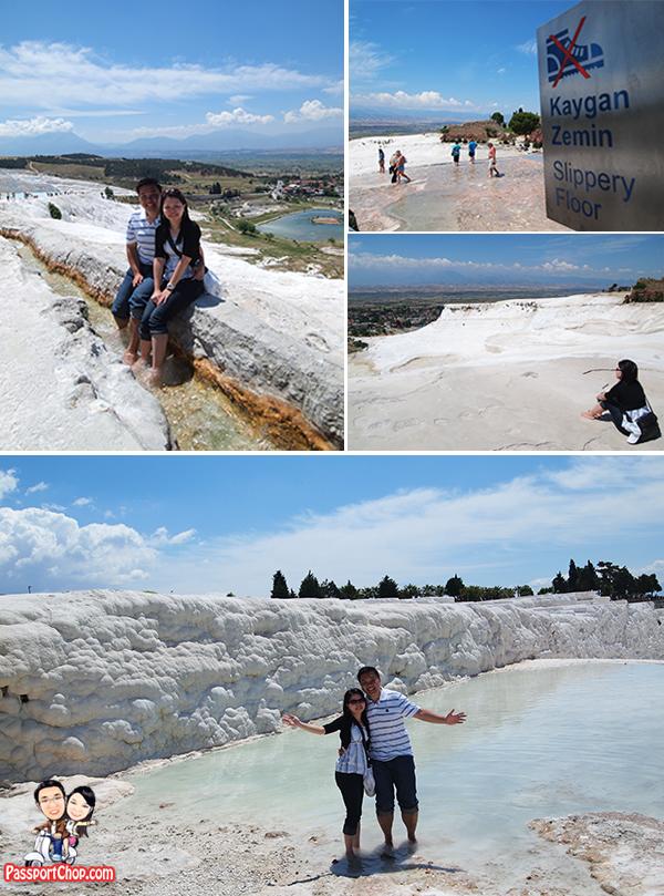 Pamukkale Turkey Travertines Calcium Cliffs cotton Castle