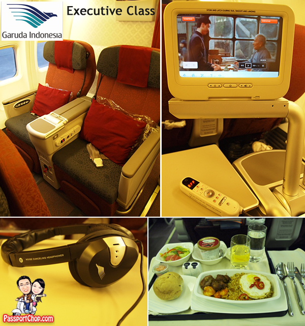Garuda Indonesia Executive Class