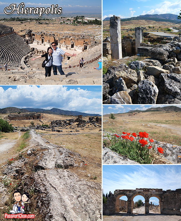 Turkey Roman City Ruins Hierapolis
