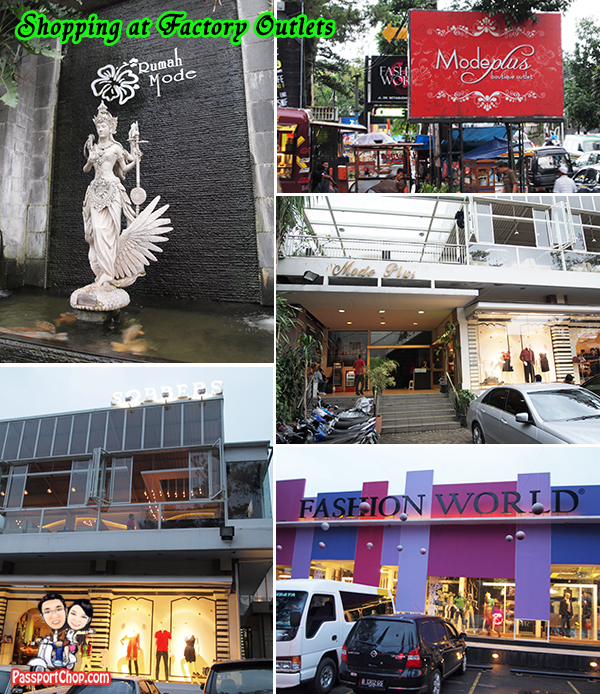 Bandung Shopping at Factory Outlets Rumah Mode