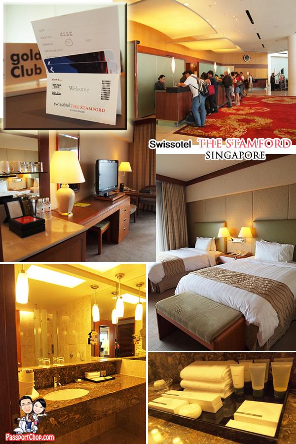 Swissotel the Stamford Hotel Luxury Staycation