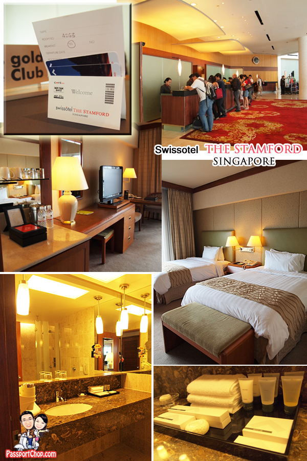 Swissotel the Stamford Hotel Luxury Staycation