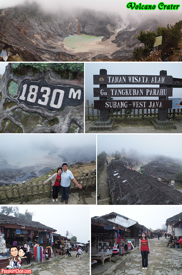 Bandung Mount of Tebgkuban Perahu Crater Volcano Tour