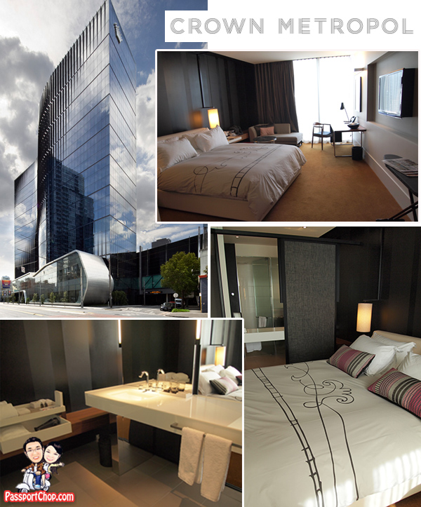 Melbourne Crown Metropol Hotel Luxe King Room