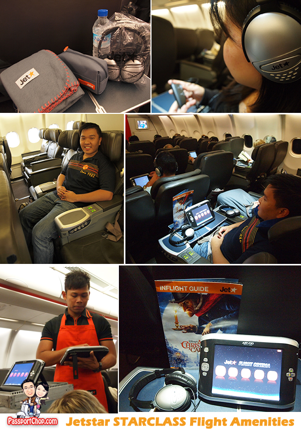 Jetstar Starclass Flight Amenities Comfort Pack Eye Shades Socks Experience Inaugural First Flight Singapore to Melbourne Australia