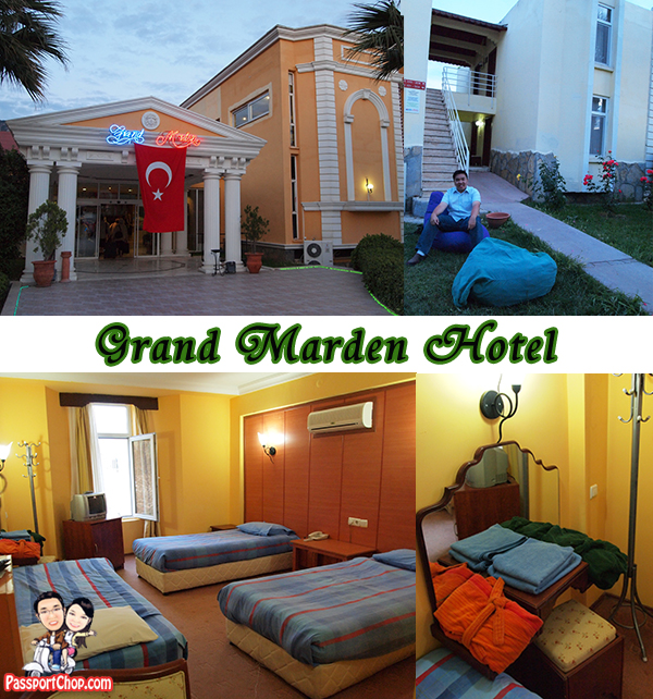 Grand Marden Hotel Review Ephesus Pamukkale Day Tour from Fethiye Tiny Akropol Tour