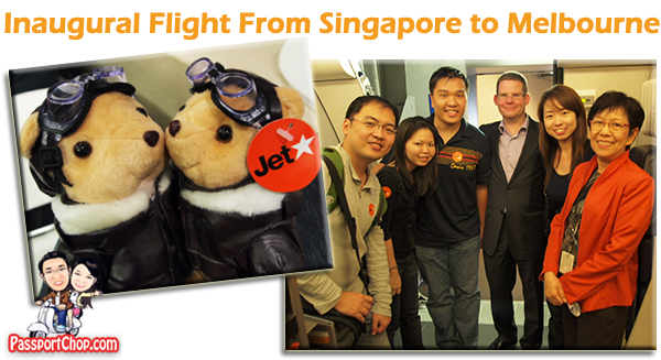Jetstar Starclass Experience Inaugural First Flight Singapore to Melbourne Australia