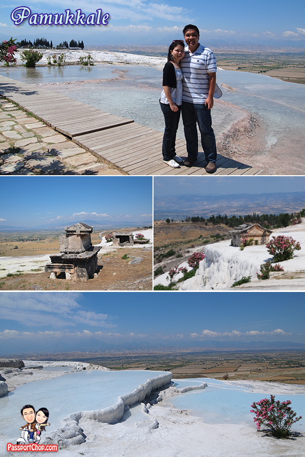 Pamukkale Turkey Travertines Calcium Cliffs