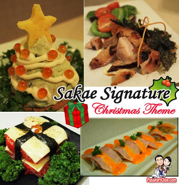 Sakae Sushi Christmas Special Meals
