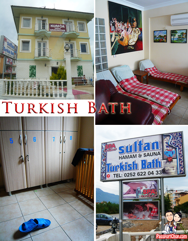 Turkish Bath Sultan Massage Spa Centre Fethiye Turkey Calis