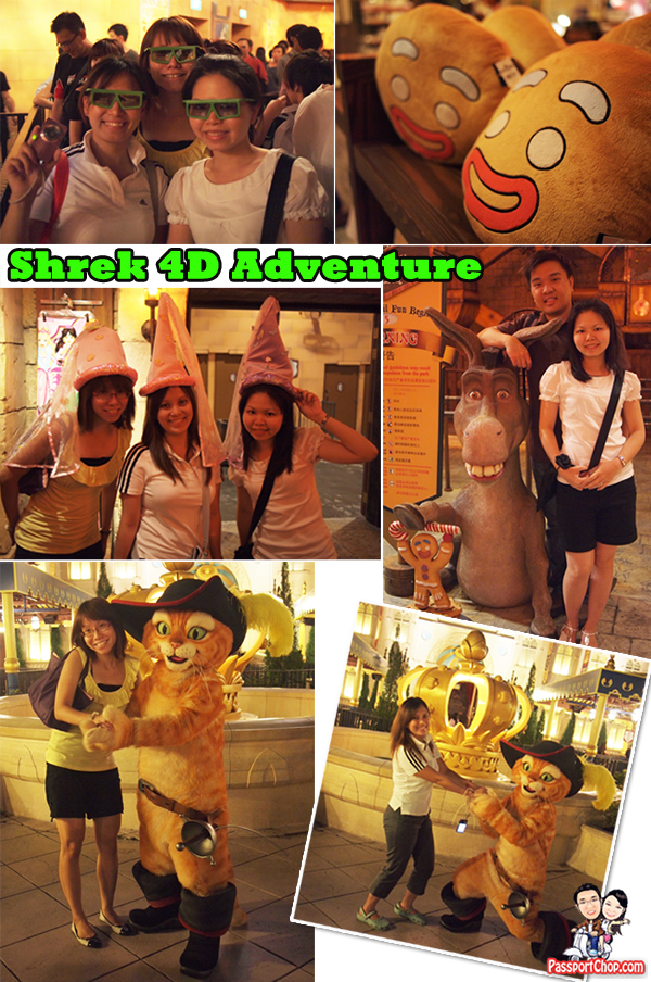 Rides at Universal Studios Singapore RWS USS Resorts World Sentosa Countdown Party Party Pack Food Shrek 4D Adventure