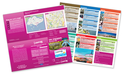 Reference Guide Map See Singapore Pass Tourist City Discounts