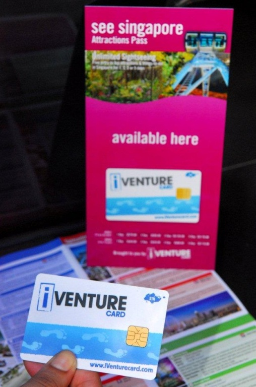 See Singapore Pass iVenture Tourist City Pass Map Reference Guide