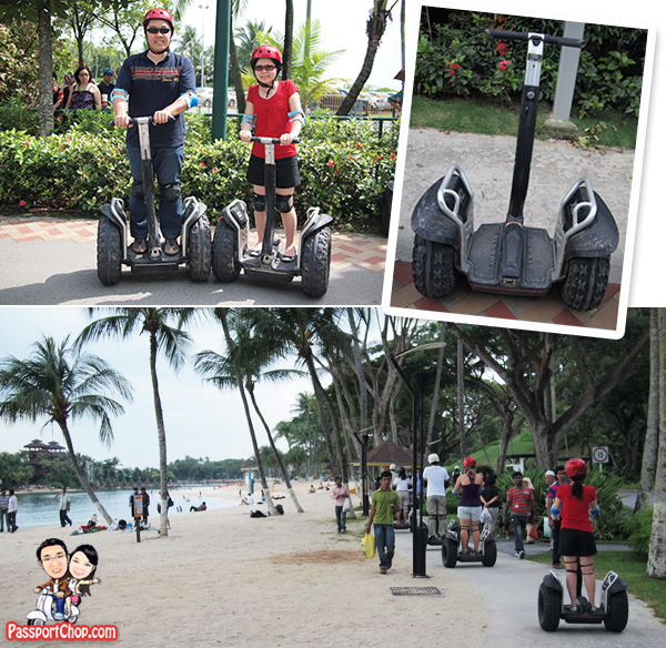 Gogreen Segway Sentosa Eco Adventure Beach Tour