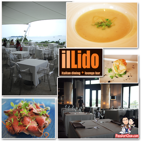 iL Lido Italian Fine Dining Sentosa Golf Club Panoramic View
